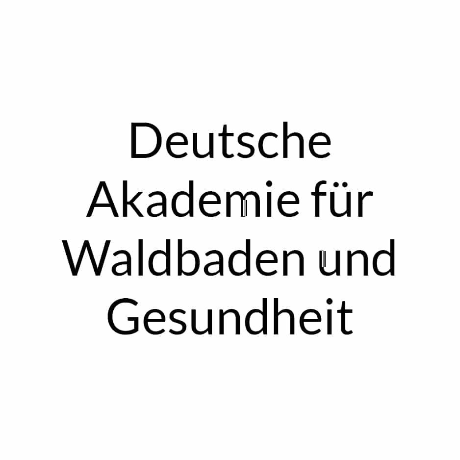 Deutsche Akademie für Waldbaden und Gesundheit